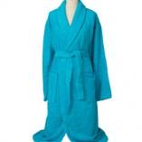 Bademantel - Erwachsene AR025 Aqua Blue