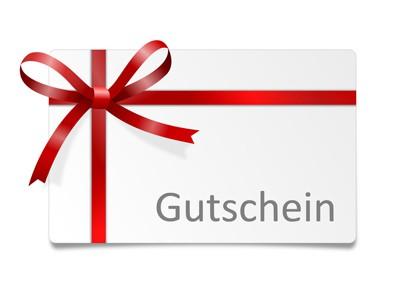 Schleife Karte Gutschein