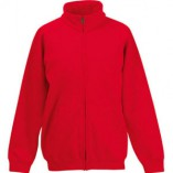 Kids Classic Sweat Jacket F457NK Red