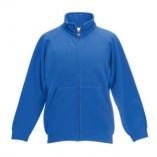 Kids Classic Sweat Jacket F457NK Royal Blue