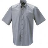 Kurzärmeliges Oxford Hemd mit BT Silver