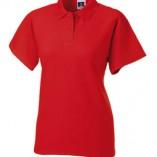 Ladies Poloshirt 65-35 Z539F Bright Red