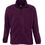 Men Fleecejacket North L742 Burgundy