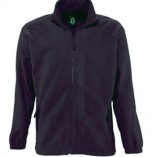 Men Fleecejacket North L742 Charcoal Grey