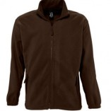 Men Fleecejacket North L742 Dark Chocolate