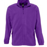 Men Fleecejacket North L742 Dark Purple