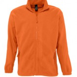 Men Fleecejacket North L742 Orange