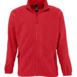 Men Fleecejacket North L742 Red