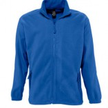Men Fleecejacket North L742 Royal Blue
