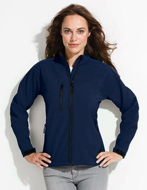 Damenbekleidung Softshell-Jacket