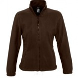 Womens Fleecejacket North L745 Dark Chocolate