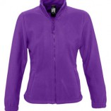 Womens Fleecejacket North L745 Dark Purple