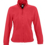 Womens Fleecejacket North L745 Red