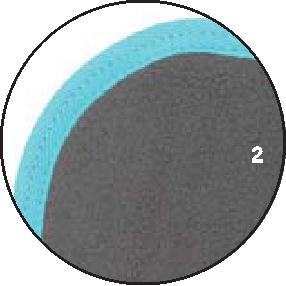 2 – Grau Borte Petrol