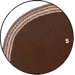 5 – Braun Borte braun mit Beige