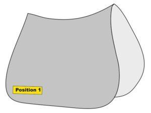 Position 1 (Einseitig rechts)